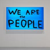 "SAM DURANT, ""WE ARE THE PEOPLE"", 2003,"