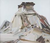"CLAIRE SHERMAN, ""BUTTE"", 2011,"
