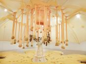 "ERNESTO NETO, ""FLOWER CRYSTAL POWER"", 2014,"