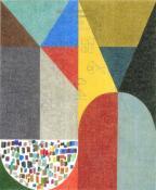 """ELIJAH BURGHER, """"EMERALD TABLET, SMASHED"""", 2011,"""